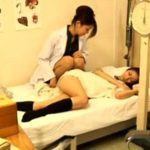 【JK盗撮レズ動画】保健室で休んでいる女子校生にイタズラする保健室の先生…他の教師が盗撮した映像…