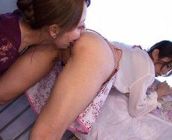 【人妻クンニレズ動画】団地で初体験レズを経験したHカップ妻…謝罪に来た人妻はベランダで更なる行為ww