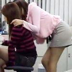 【素人盗撮レズ動画】AVメーカーの社内に真正レズビアンがいると噂…隠しカメラを設置して真相を追求した結果ww
