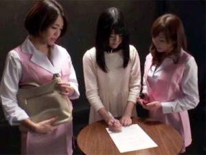 【調教レズ動画】メチャクチャにされたい願望が強すぎた素人が面接ナシで契約書にサインして即AV出演ww