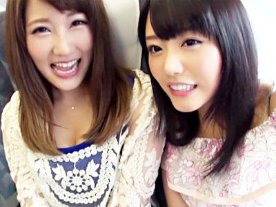 【盗撮レズ動画】大親友の浜崎真緒と工藤美紗が初のプライベート旅…旅館の隠しカメラでレズ絡みを撮影ww