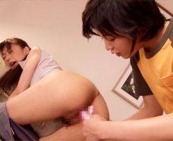 【家庭教師レズ動画】息子の成績が上がらないことに激怒する母親…セックスばかり上達する男装女子ww