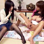 【嫁姑レズ動画】可愛い嫁に舌を出してと命令する姑…更には手マンを強要してレズビアンの喜びを知る嫁ww